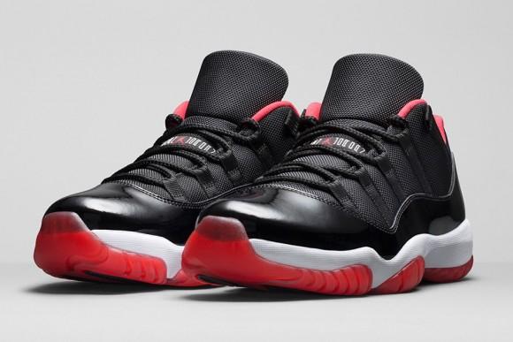 Air Jordan 11 Retro Low Black: Red – Official Look + Release Info 1