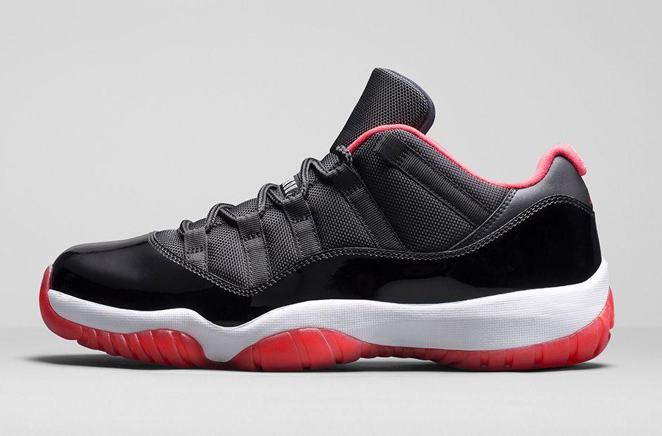 Air Jordan 11 Retro Low Black/ Red
