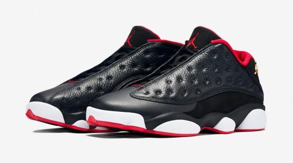 Air Jordan 13 Retro Low Black Red – Official Look + Release Info 1