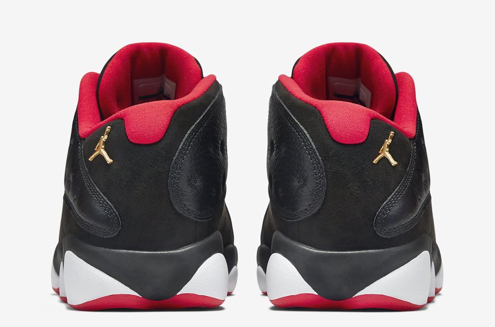 wholesale dealer b909f e3a72 Air Jordan 13 Retro Low Black/ Red - Official Look + Release ...