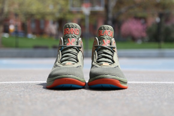 Brandblack J Crossover 2 'St. Patty's Day' tongue view