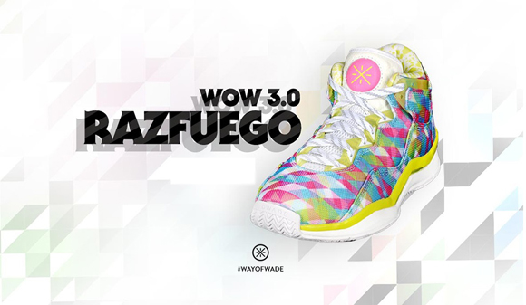 Li-Ning Way of Wade 3 'Razfuego'  1