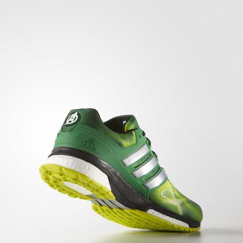 Hulk Run in the adidas Response Boost