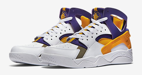 Nike Air Flight Huarache 'Los Angeles Lakers'