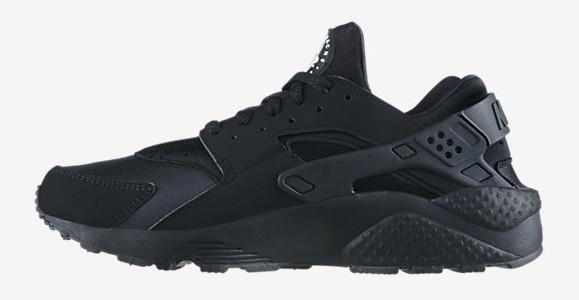 Nike Air Huarache 'Triple Black' medial