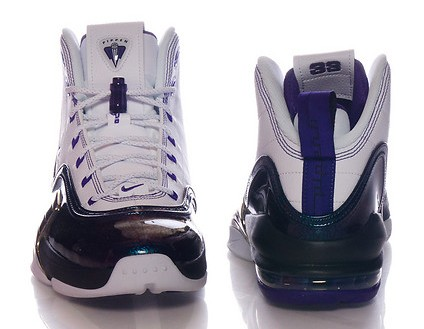 Nike Air Pippen 6 'Central Arkansas Bears' heel and toe