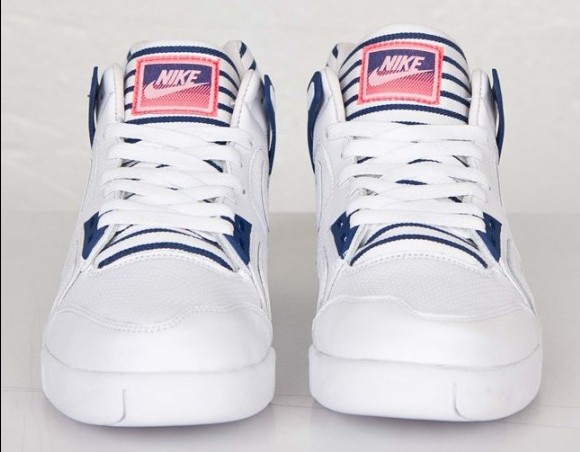 Nike Air Tech Challenge 2 'Pinstripes' front toe tongue
