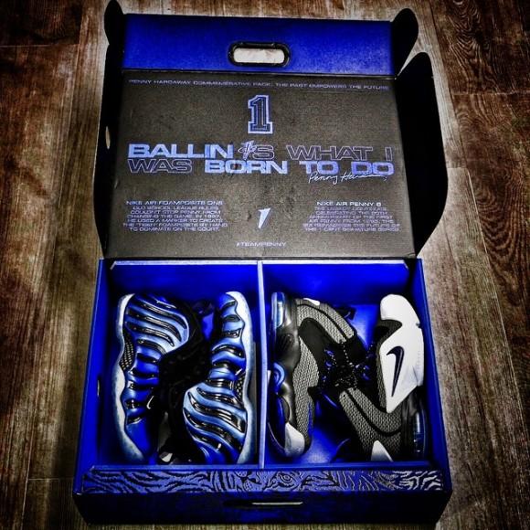 Nike Foamposite One 'Sharpie' & Nike Air Penny 6 pack
