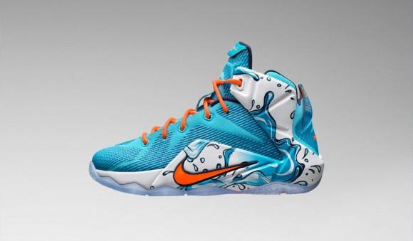 Nike LeBron 12 GS 'Buckets' 2