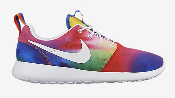 Nike Roshe One 'Rainbow Tie Dye' lateral side