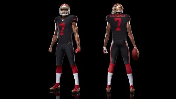 San Francisco 49ers Get New All-Black Alternate Uniforms 2
