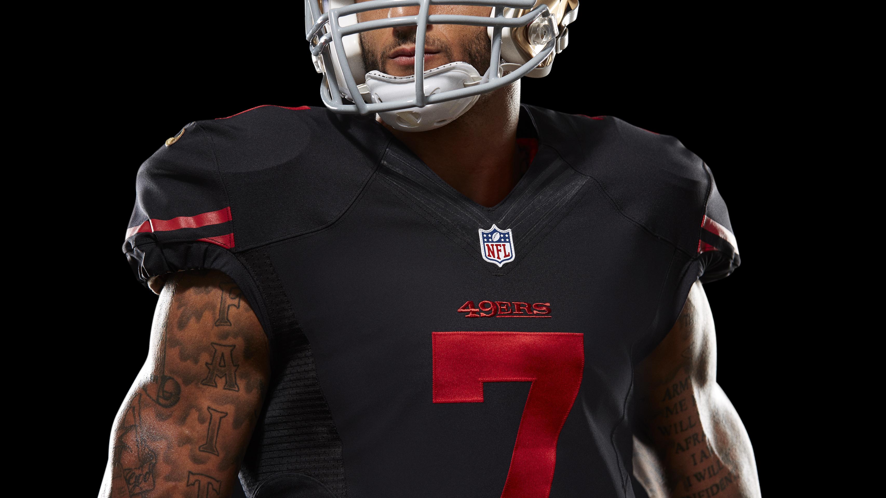 online retailer a4dc8 ddfbb San Francisco 49ers Get New All-Black Alternate Uniforms ...