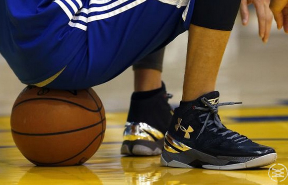 Stephen Curry Has Practiced in the Under Armour Curry 2 1