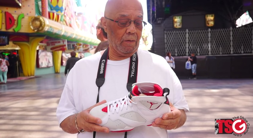 VIDEO Old People Review The Air Jordan 7 Retro 'Hare'