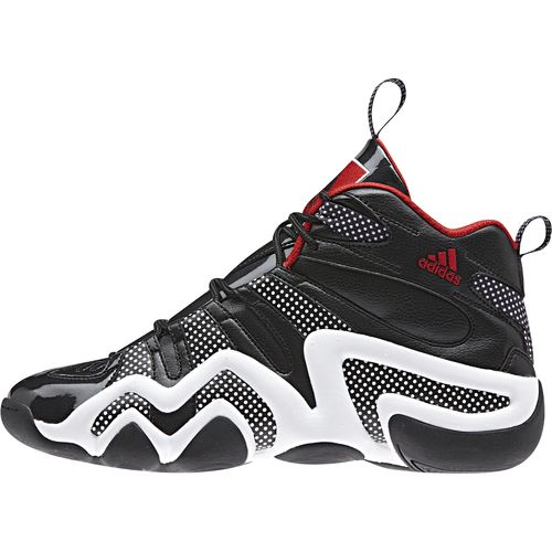 adidas Crazy 8 Goes Black Red with Patent Leather and Polka Dots