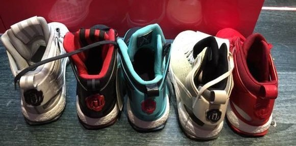 2adidas d rose 6 colourways