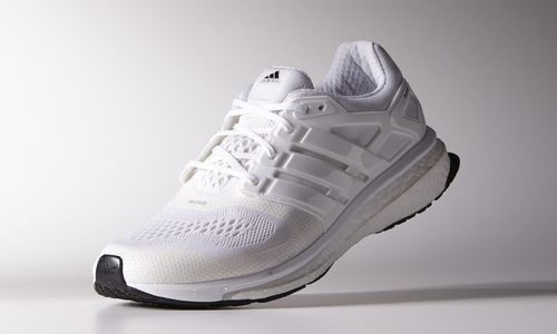all-white adidas Energy Boost ESM that Kanye West 2