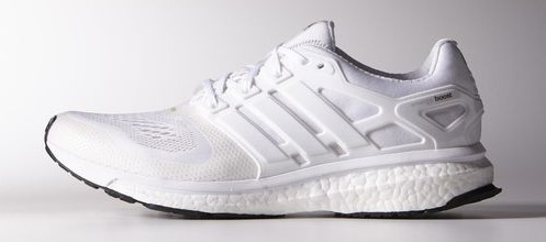 all-white adidas Energy Boost ESM that Kanye West