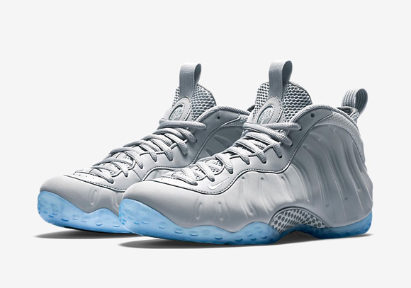 An Official Look At The Grey Suede Nike Air Foamposite One 1