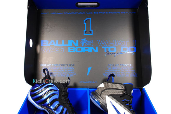 Detailed at The Nike Air Penny Pack 1