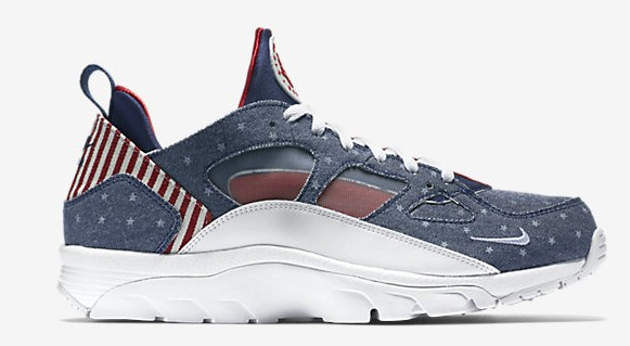 Nike Air Trainer Huarache Low 'USA' lateral