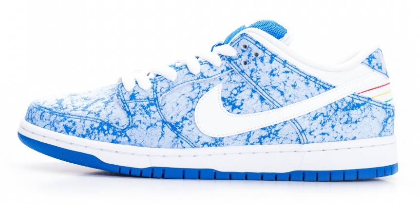Nike Dunk Low SB 'Marble' lateral