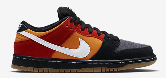 Nike Dunk Low SB Pro 'Magmar' lateral