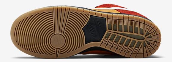 Nike Dunk Low SB Pro 'Magmar' outsole