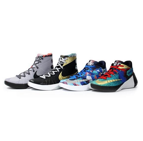Nike Hyperdunk 2015 'City Pack'