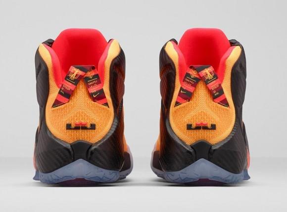 Nike LeBron 12 'Witness' heel