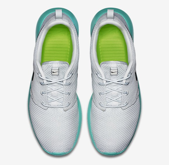 Nike Roshe One 'Calypso' top view
