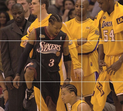 iverson steps over lue