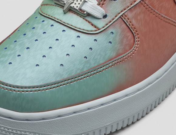 Nike Air Force 1 AF1 Color Change The Hook Velcro Sneakers Picking AH8462 102 Free Shipping