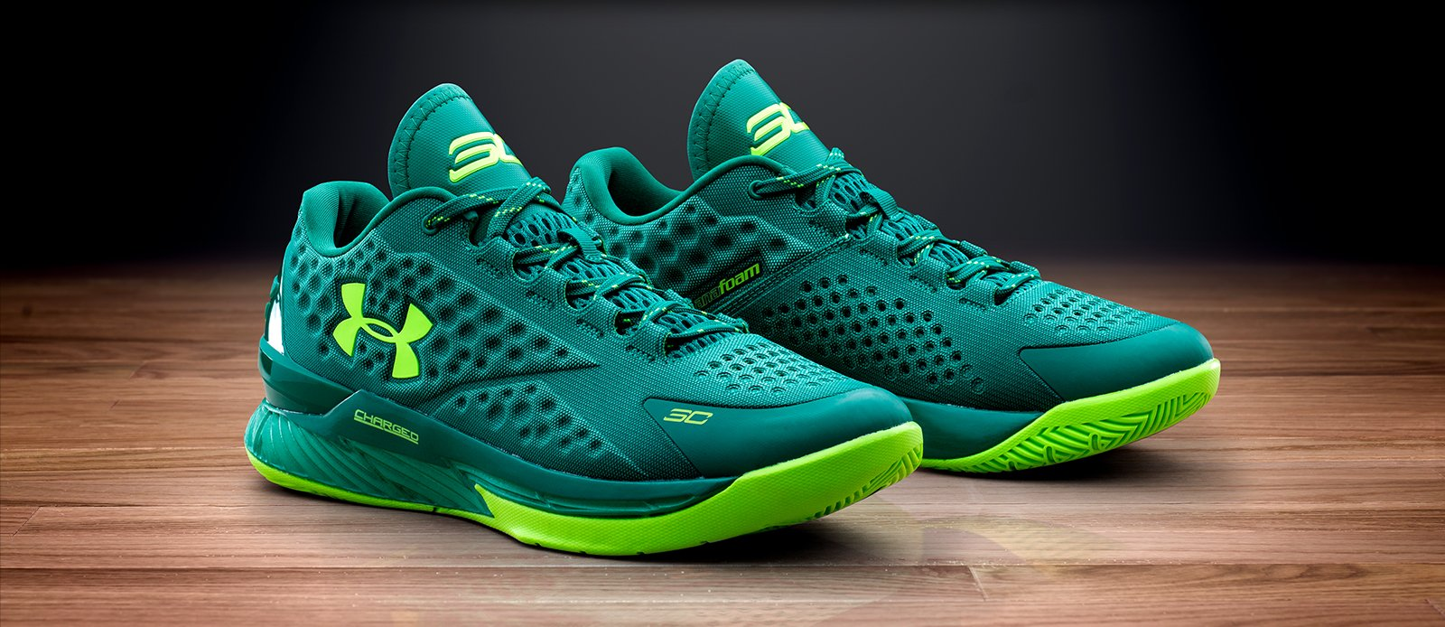 Under Armour Curry One Low 'Golf' - Scratch Green
