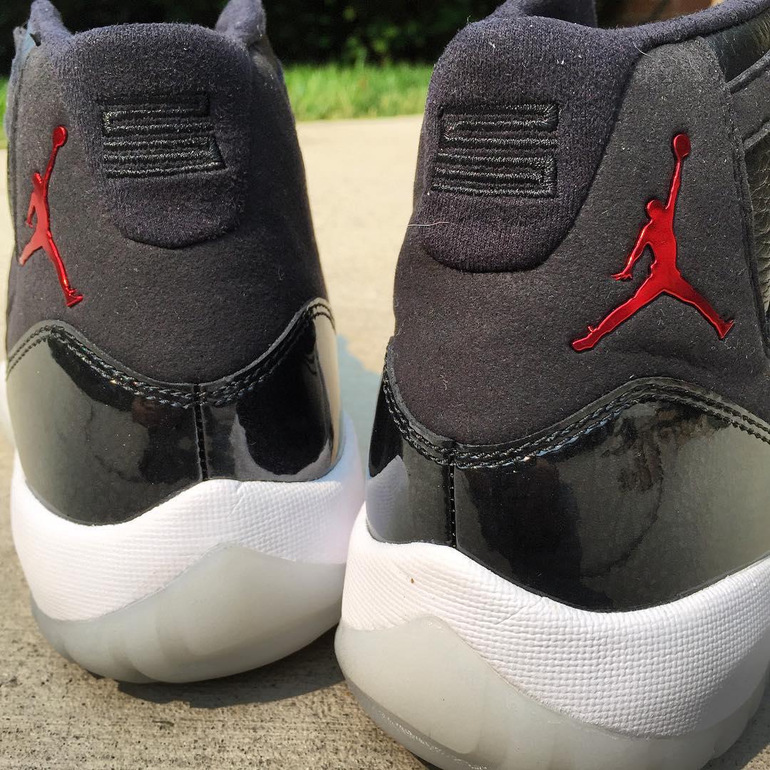 Air Jordan 11 Retro '72-10' heel 23 back