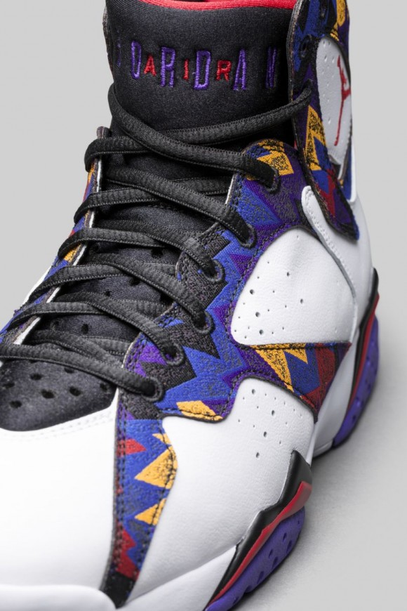 Air Jordan 7 Retro 'Nothing But Net' - Official Look + Release Date 4