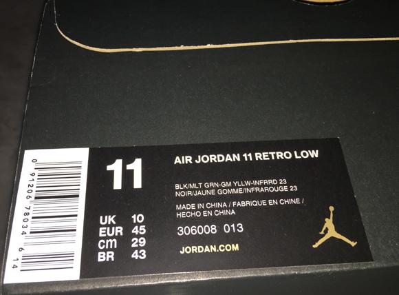 Get A Detailed Look At The Air Jordan 11 IE Low Retro 'Croc' 10