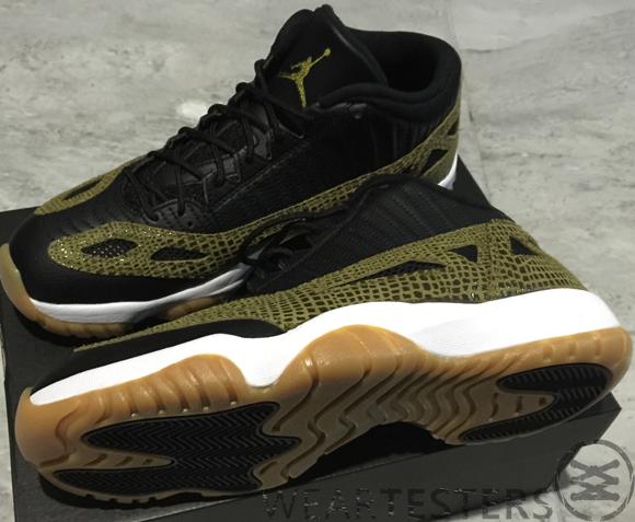 Get A Detailed Look At The Air Jordan 11 IE Low Retro 'Croc' 2