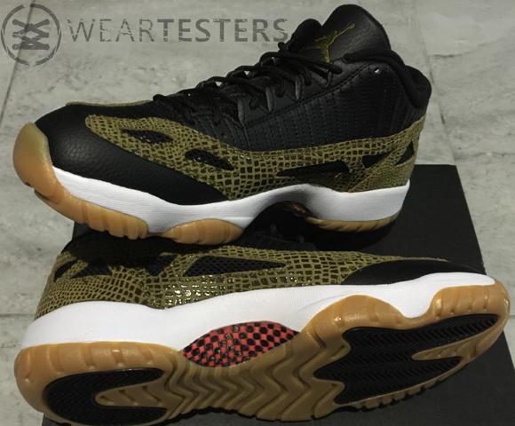 Get A Detailed Look At The Air Jordan 11 IE Low Retro 'Croc' 3