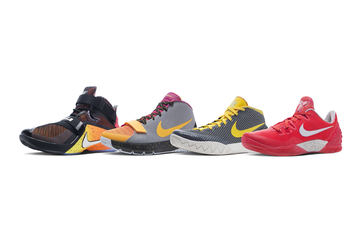 Get Up Close And Personal With Nike Basketball's Limited RISE Collection Main