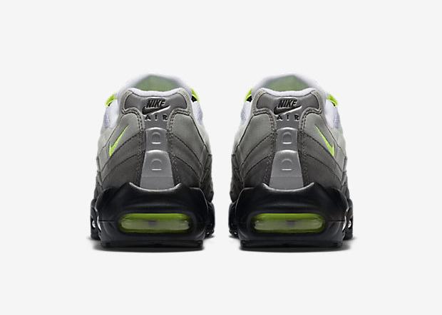 Nike Air Max 95 OG 'Neon' heel