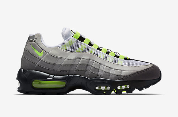 Nike Air Max 95 OG 'Neon' lateral side