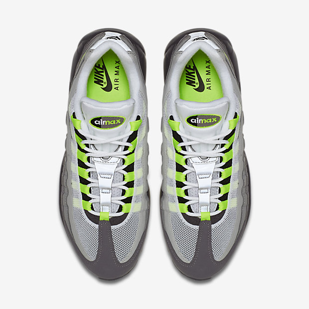 Nike Air Max 95 OG 'Neon' top view