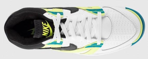 Nike Air Tech Challenge 3 Volt Radient Emerald top view