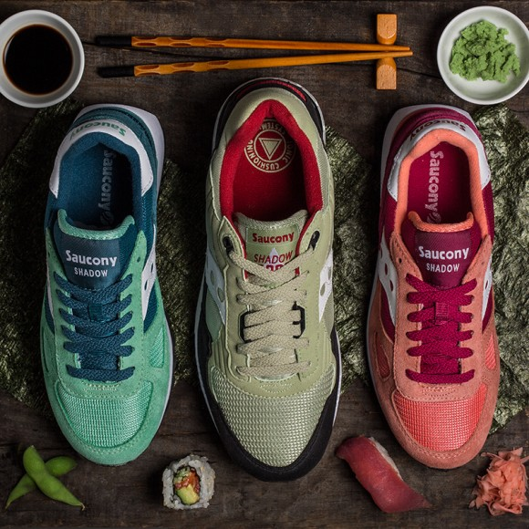 Saucony 'Sushi Pack'
