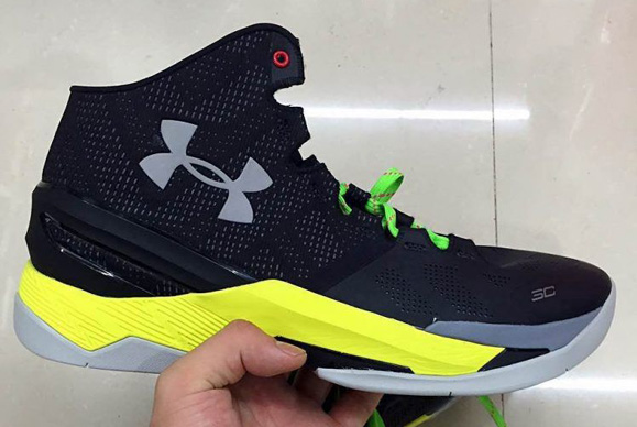 Taking A Look At The Under Armour Curry Two In Sample Form 1