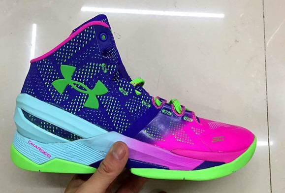 Taking A Look At The Under Armour Curry Two In Sample Form 5
