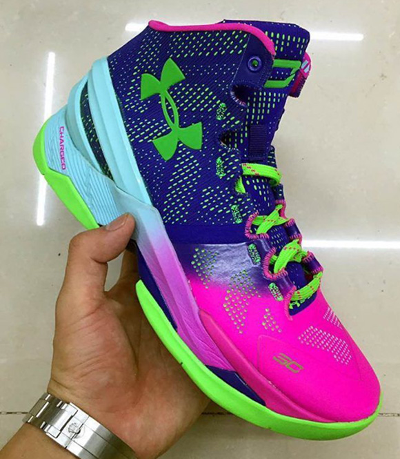 Taking A Look At The Under Armour Curry Two In Sample Form 6