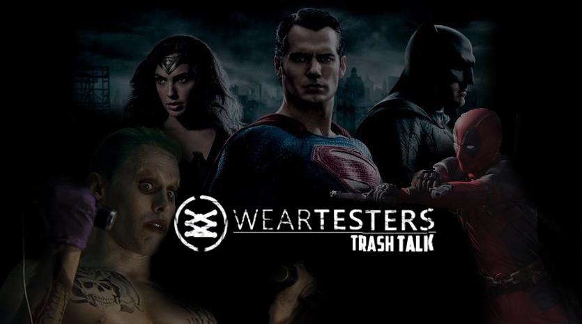 WearTesters Trash Talk Tackles Comic Con Footage