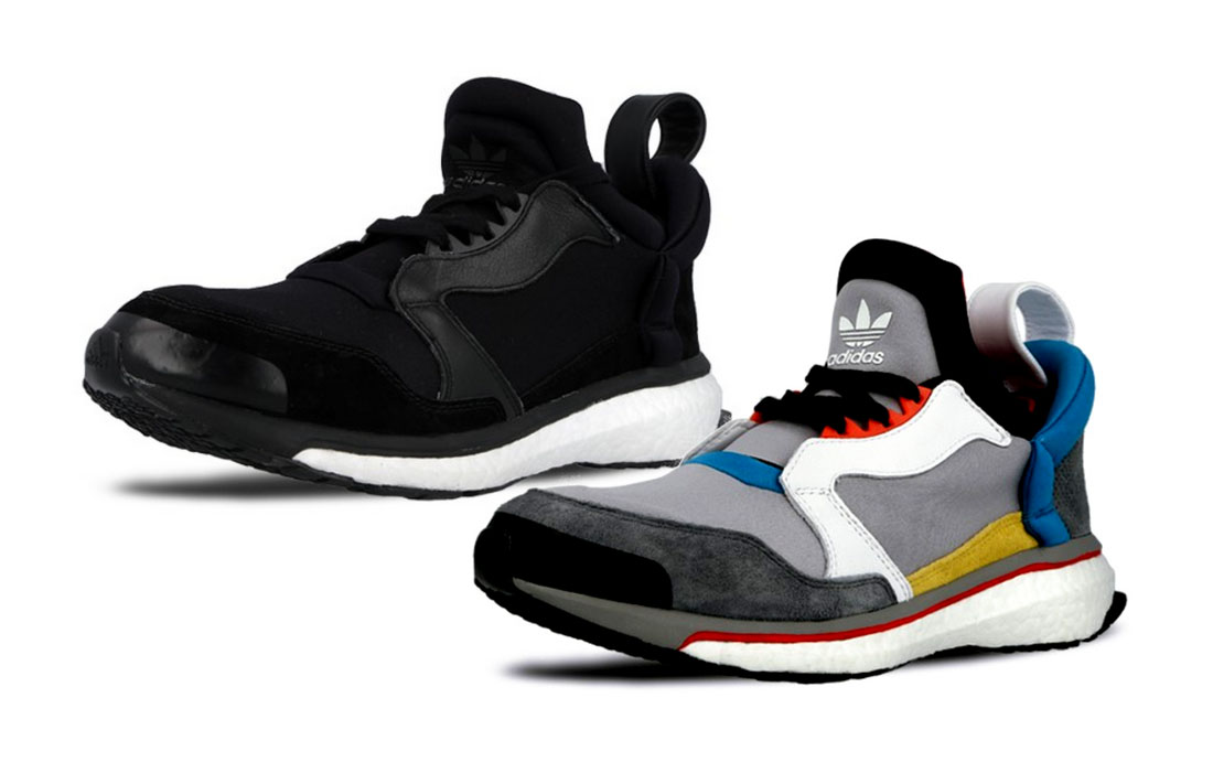 adidas Blue Boost – black and multicolor